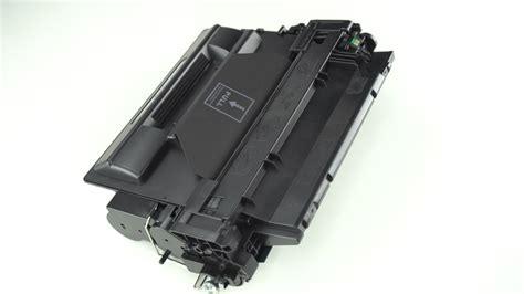 Toner Hp 55a Black hp 55a ce255a black 6 000 page yield replacement laserjet toner cartridge