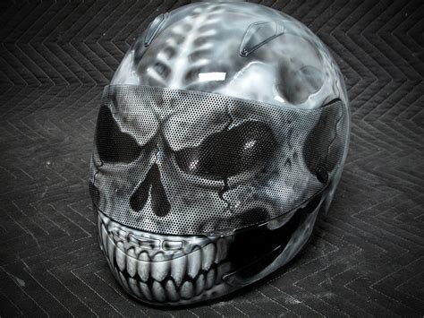 skull motocross helmet custom motorcycles helmets gallery