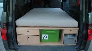 Honda Element Bed Honda Element Car Cing Platform Bed Chuck Box