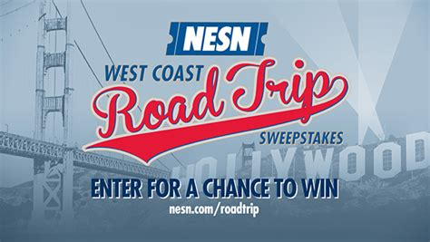 West Coast Road Trip Sweepstakes - nesn west coast road trip sweepstakes graphics on the art institutes portfolios