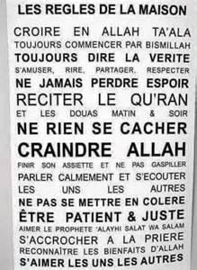 islam regles de la