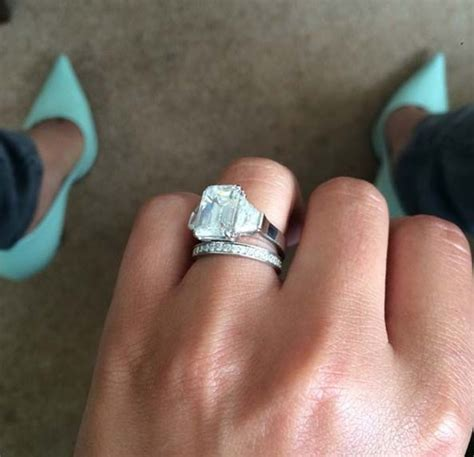 cheryl cole s engagement ring cost and details