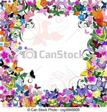cornici con photoshop ramage cornice farfalle