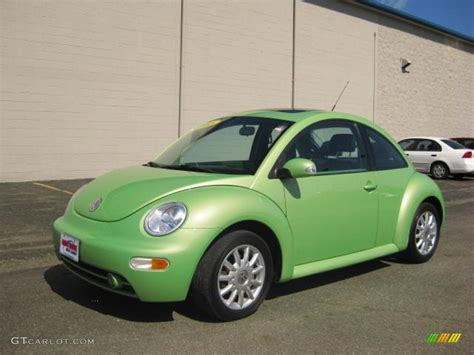 2005 Cyber Green Metallic Volkswagen New Beetle Gls Tdi