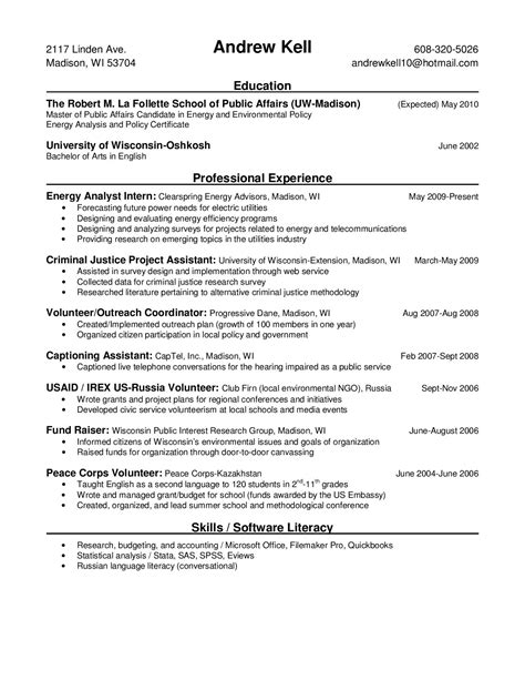 awesome energy policy resume photos resume sles writing guides for all orkuit