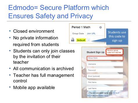 edmodo platform parents night edmodo training power point 2013