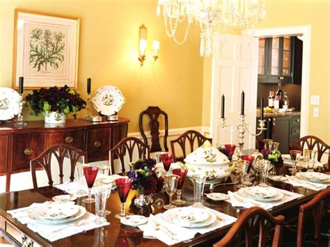 yellow dining rooms photo page hgtv