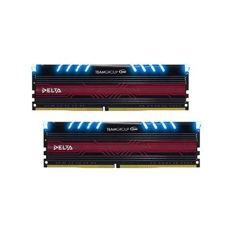 Memory Team Delta Ddr4 Pc19200 2400mhz 32gb 2x16gb Led 32gb 2x 16gb ddr4 tdtbd432g3000hc16cdc01 ниска цена от