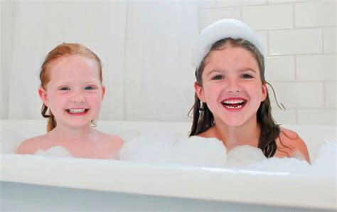 kid in bathroom spend 20 for 40 worth of natural organic kid s bath