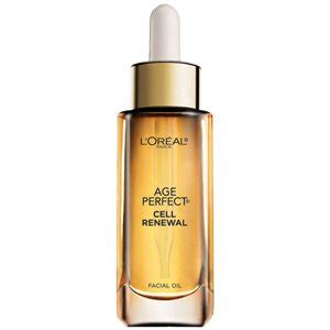 age perfect cell renewal facial oil light treatment l