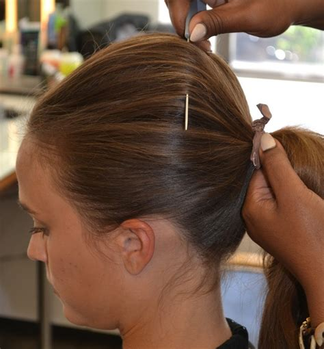 how to seeo pony tail with crown height how to create the perfect ponytail lux concord a
