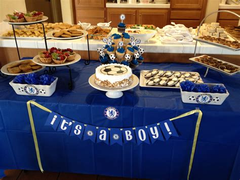 Baby Shower Football Theme by Chelsea Football Themed Baby Shower Gifts