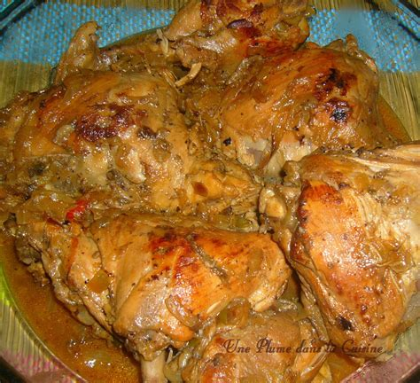 recette de cuisine antillaise facile fricass 233 e de poulet 224 l antillaise une plume dans la cuisine