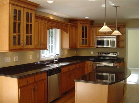 Kitchen Cabinets For Small Kitchen Wall Paint Colors For Small Kitchens With Brown