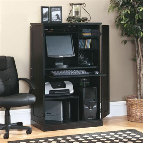 Sauder Home Office Furniture Sauder Computer Desk Storage Furniture Armoire Home Office Workstation New Ebay