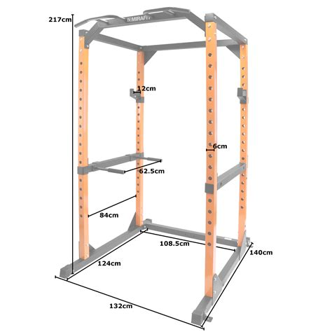 Dip Bars For Squat Rack by Mirafit M2 Power Cage Squat Rack Pull Up Dip Bar Weight