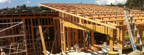 Pitched Roof Framing Torbay New Build Buildology