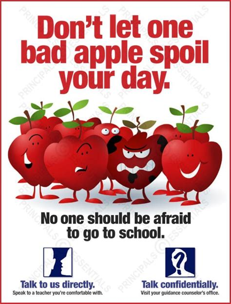 Dont Let Traditions Spoil Your Day by Don T Let One Bad Apple Spoil Your Day