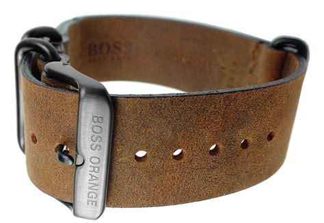 Festina Herrenuhren 3136 by Hugo 1513316 Uhrenarmband 24mm Leder Vintage