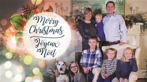 christmas cards  trudeau scheer feature family rci english