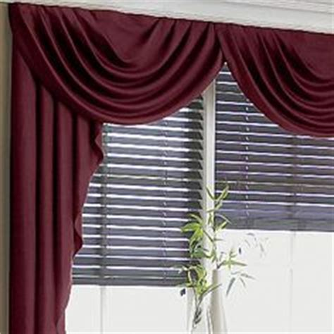 jcpenney swag curtains cascade swag curtains on pinterest valances swag and