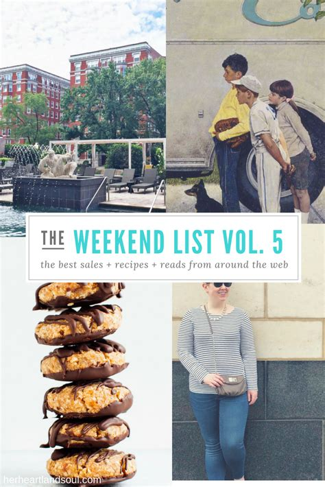 Web Addict Weekend Reads 5 by The Weekend List Vol 5 Heartland Soul