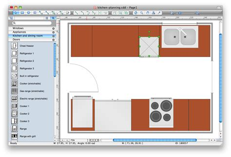 Floor Planner Online Free by Kitchen Planning Software
