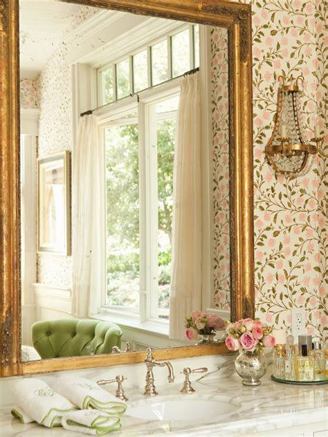 using wallpaper in bathrooms using patterns in the bathroom ideas inspiration