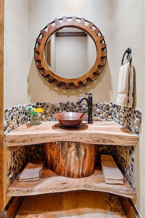 wood vanity top bathroom 15 live edge wood vanity top for rustic bathroom ideas