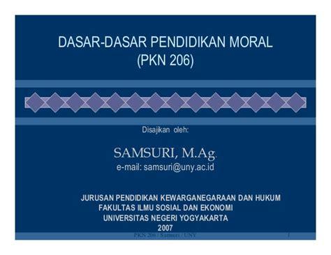 Dasar Dasar Ilmu Pendidikan Buku Pendidikan dasar dasar pendidikan moral