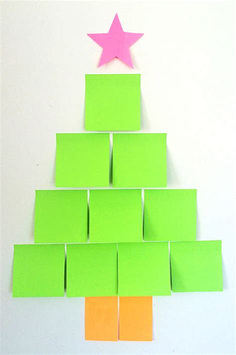 post it christmas tree word for tree spelling quiz