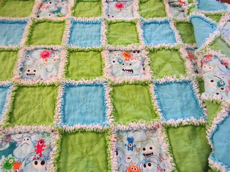 Project Patchwork - my patchwork quilt another rag quilt for project linus