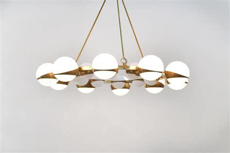 Grand Lustre Design by Grand Lustre Italien Moderne Style Stilnovo Chandelier