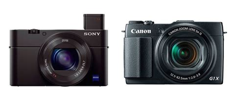 Sony Rx100 M3 sony rx100 m3 vs canon g1x ii specifications comparison