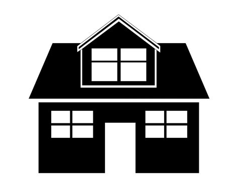 black and white home house black and white house clip art free black and white