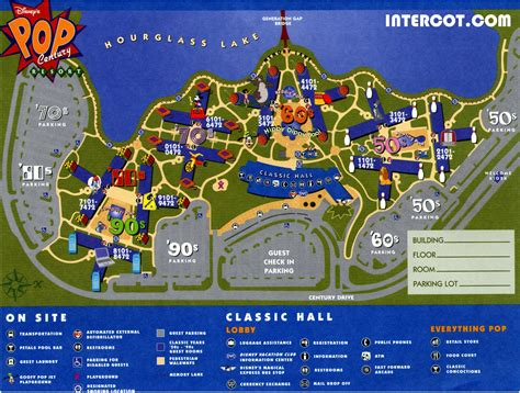 pop century preferred rooms pop century map my