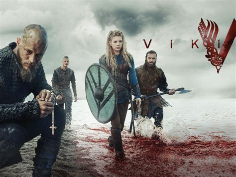 wallpaper vikings season  hd tv series