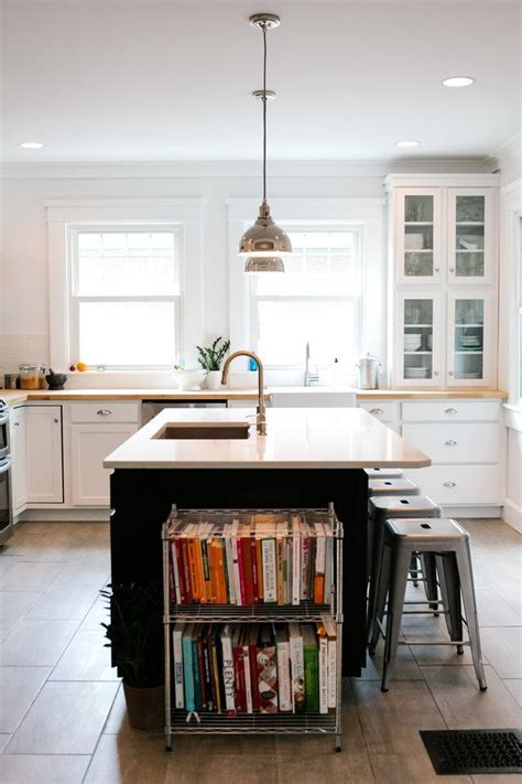 Metal Backsplash Kitchen 15 unique kitchen ideas for storing cookbooks