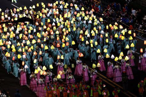 does korea celebrate new year south koreans celebrate buddha s birthday with spectacular