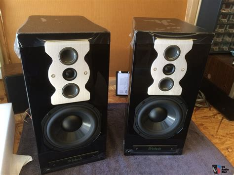 mcintosh xr50 3 way bookshelf monitor speakers brand new