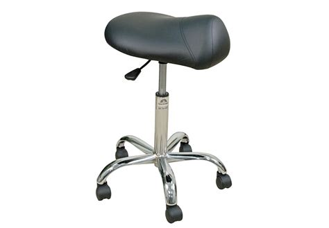 Oakworks Premium Saddle Stool by Professional Stool With Saddle Seat High Height Range