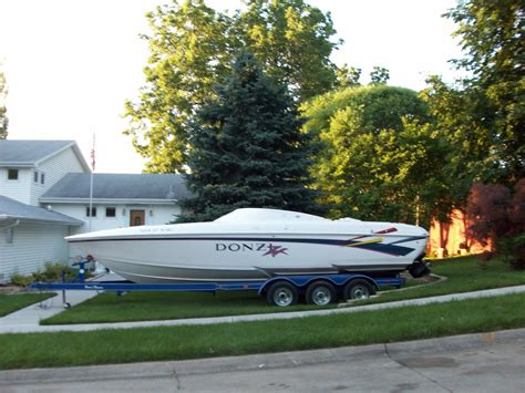 magnum boat trailer axles 502 magnum fuel injected donzi 280zx 28 ft speed boat 3