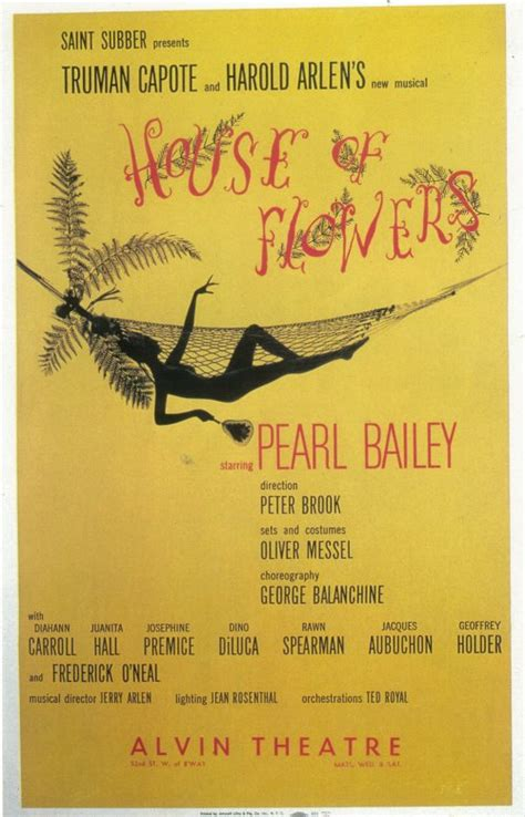 house of flowers house of flowers broadway movie posters from movie
