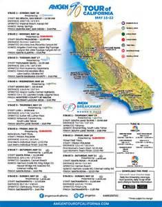amgen tour of california map amgen tour of california usa 15 au 22 05 2016