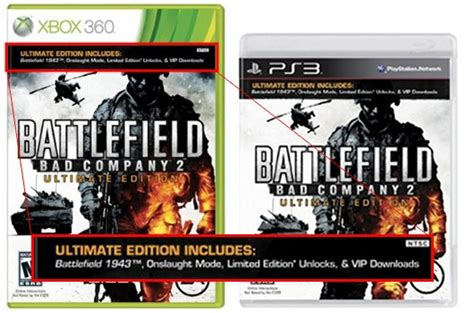 Ps3 Battlefield Bad Company 2 Ultimate Edition battlefield bad company 2 sports depot