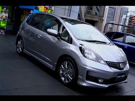 2011 honda fit / jazz rs (silver) youtube