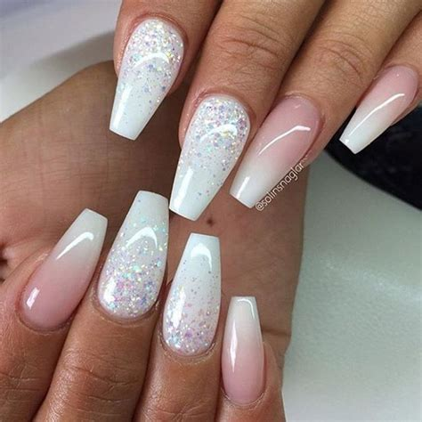 moon shape ombre glitter nail art pinterest pin by ayla walker on hair nails and beautifulness