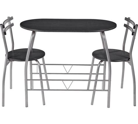 Argos Bistro Table Buy Home Vegas Dining Table And 2 Chairs Black At Argos Co Uk Your Shop For Bistro