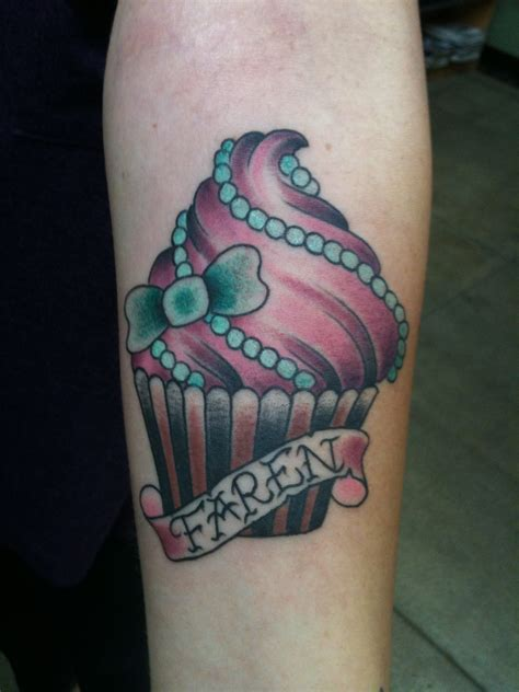 cupcake tattoos designs ideas and meaning tattoos for you
