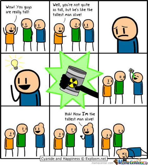 Cyanide And Happiness Memes - cyanide happiness memes best collection of funny cyanide